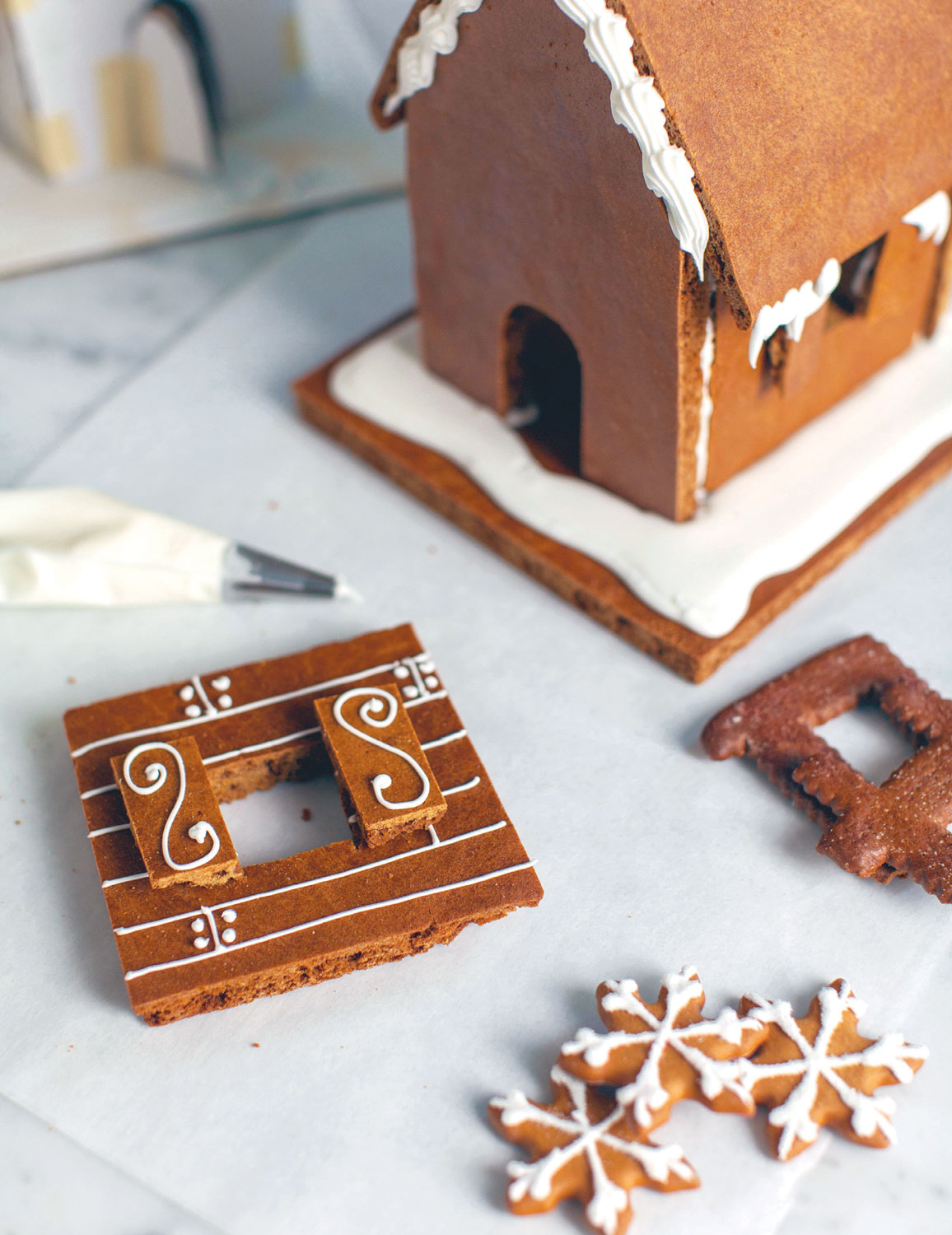Gingerbread House Construction Tips Edible Jersey
