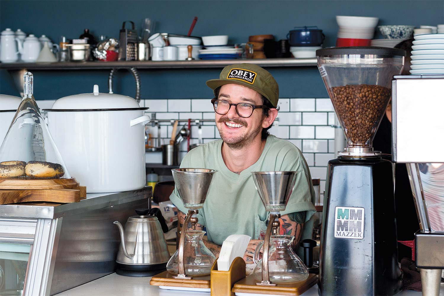 Mike Caliendo links coffee cocktails and mixology