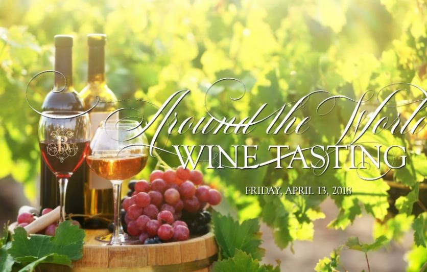 Around the World Wine Tasting Experience