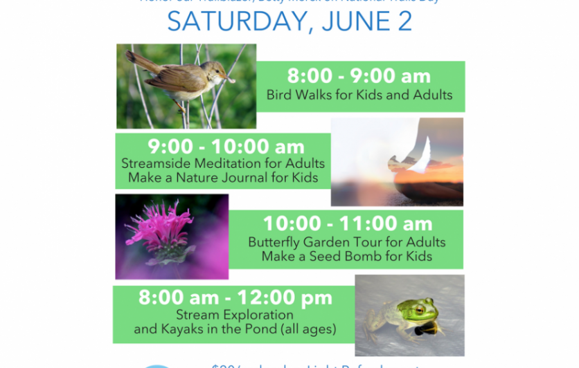On June 2nd  enjoy a fun family day on Fairview Farm to honor our friend and conservation leader, the late Elizabeth (Betty) Merck.