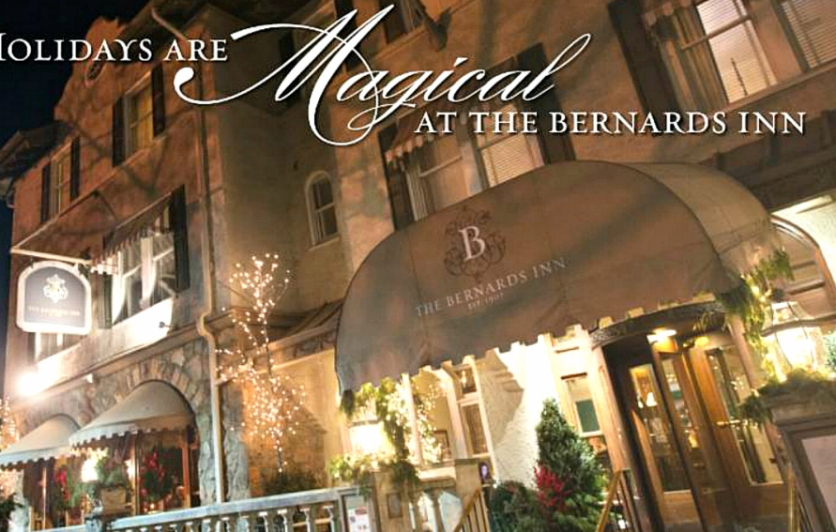 The holidays are magical at The Bernards Inn
