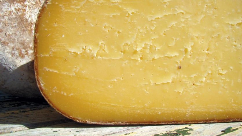 cheese wedge from Cherry Grove Farm