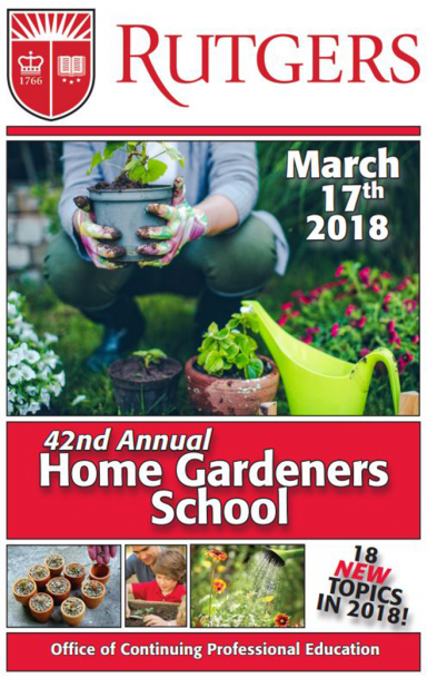 Let Happiness Grow from Your Garden at the 42nd Annual Rutgers Home Gardeners School