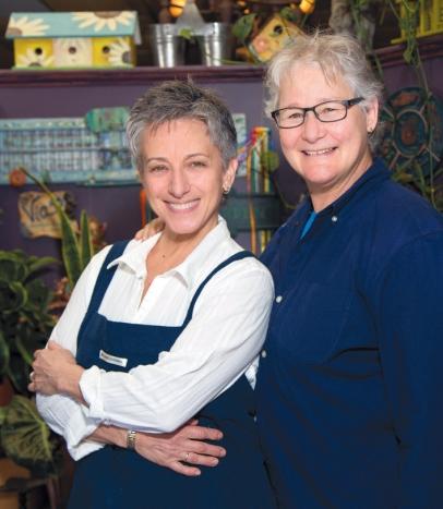 Lauren Phillips and Claudette Herring
