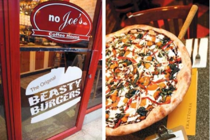 Burgers and Pizza at Red Bank