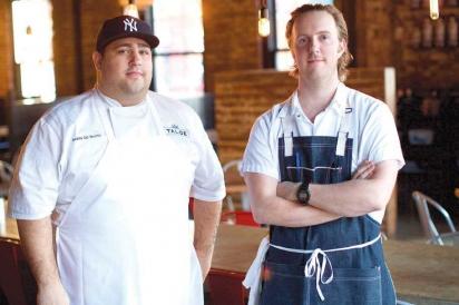 Andrew del Vecchio and Scott Macdonald of Talde Jersey City