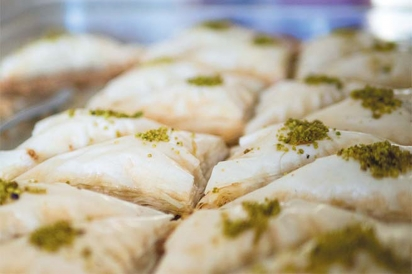 Baklava from Headquarters Sannine Lebanese Restaurant