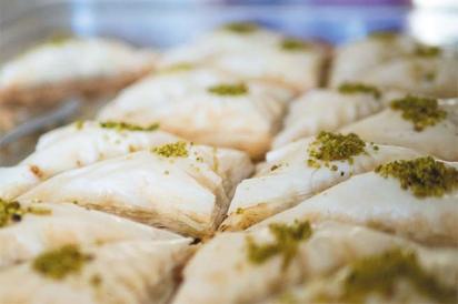 Baklava from Headquarters Sannine Lebanese Restaurant