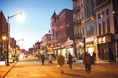 Street in Jersey City
