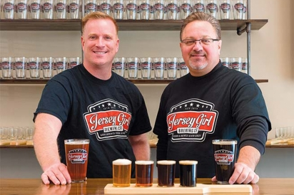 Mike Bigger and Chuck Aaron of Jersey Girl Brewing Company
