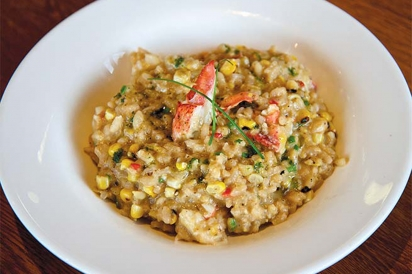 lobster corn risotto