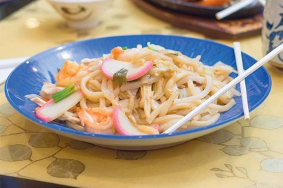 Yaki udon noodles from Mahzu