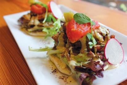 Mediterranean tacos