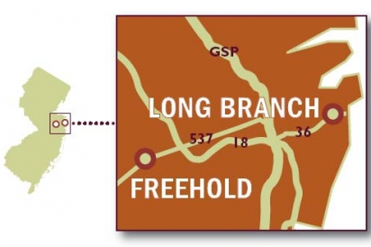 A map to help navigate through NJ