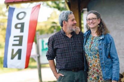 Jonathan and Nina White