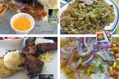 Peruvian dishes around NJ