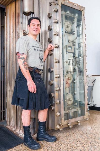 Joe Fisher of Man Skirt Brewing