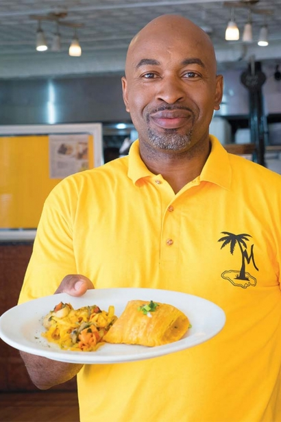 Kenroy Morgan of Morgans Island Grill