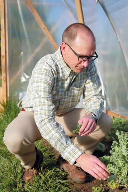 Nate Stucky, director of the Farminary