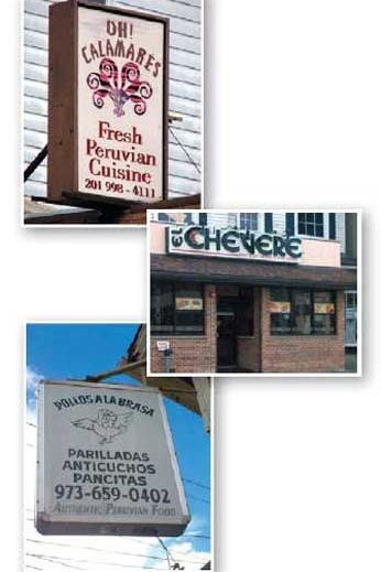 Peruvian Restaurants around New Jersey