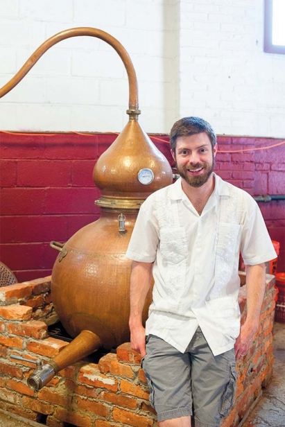 Chief Distiller James Yoakum
