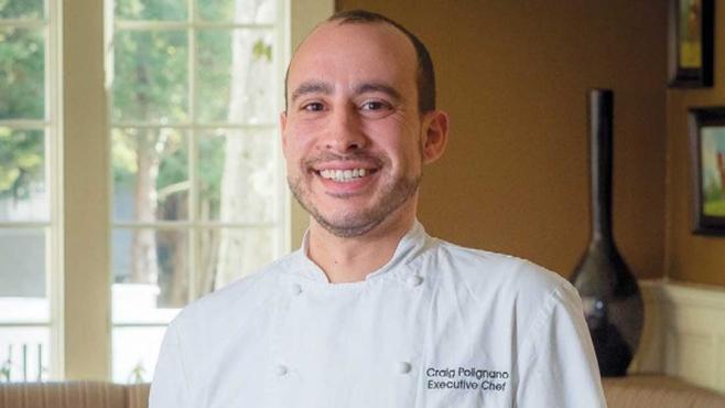 Chef Craig Polignano of Ryland Inn