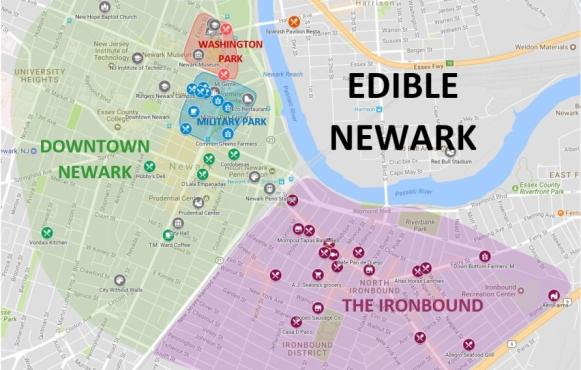 Edible Newark Map