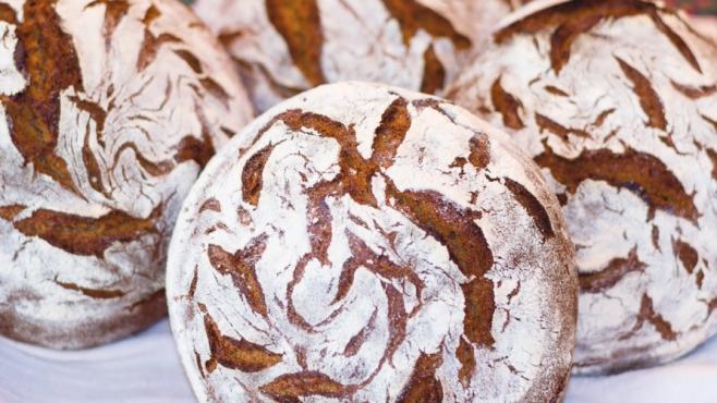 European-style, naturally leavened bread