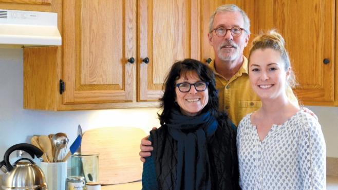 Ashley, Jim and Kathy Lyons