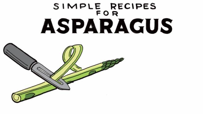 in season asparagus