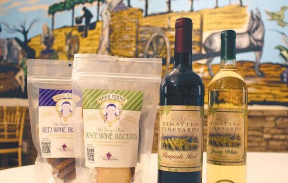 Nana Milena's Wine Biscuits