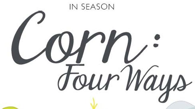 corn four ways