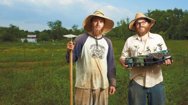experimental farm network