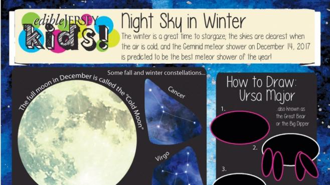 Edible Jersey Kids: Night Sky in Winter