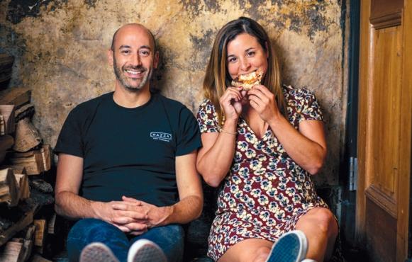 Dan Richer with Katie Parla