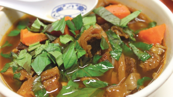 Sauteed Beef White Noodle Soup at Hu Tieu Mien Tay, Pleasantville