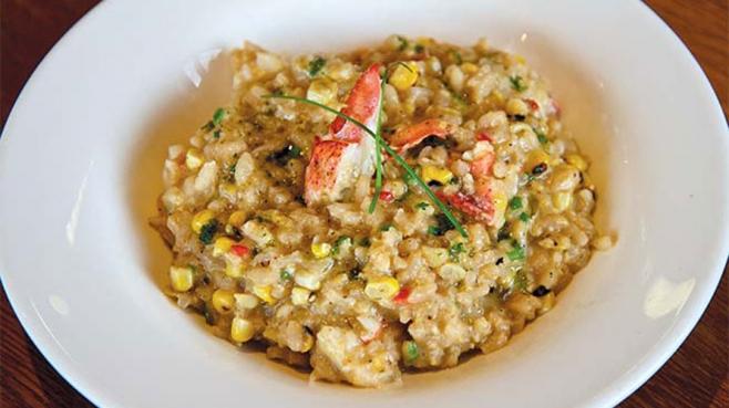 lobster corn risotto recipe