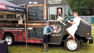 jammie crepes princeton food truck