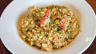 lobster corn risotto recipe